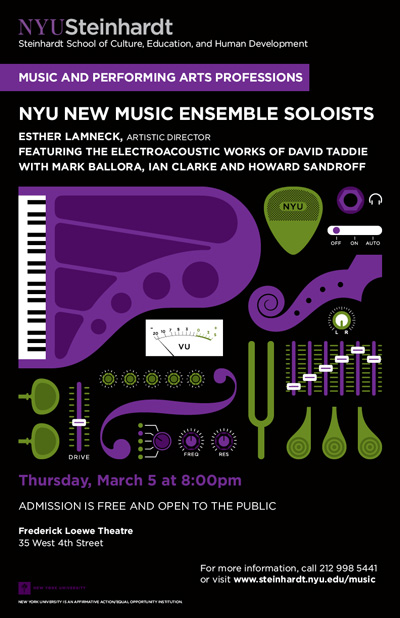 New York University Steinhardt Posters