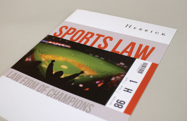 Herrick Sports Law Brochure