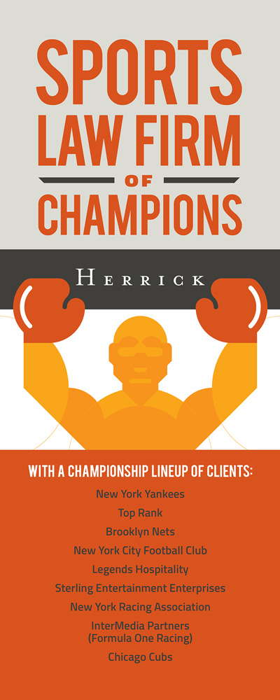 Herrick Sports Law Display